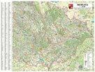Morava nástěnná mapa 1:240 140x110cm