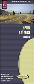 Ukrajina - Krym - mapa Reise Know-How 1:340 000