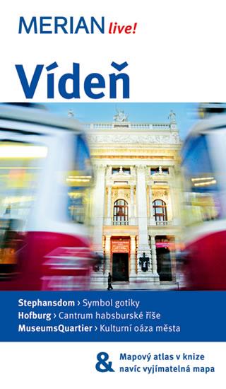 Vídeň - průvodce Merian č.56 - 4.vydání /Rakousko/ - Christian Eder - 11x19 cm