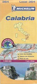 Itálie - Calabria /Kalábrie/ - mapa Michelin č.364 - 1:200 000