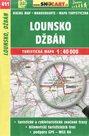 Lounsko, Džbán - mapa SHOCart č. 411 - 1:40 000