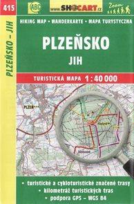 Plzeňsko - jih -  mapa SHOCart č. 415 - 1:40 000