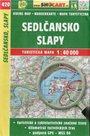 Sedlčansko, Slapy - mapa SHOCart č. 420 - 1:40 000