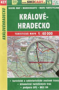 Královehradecko - mapa SHOCart č. 427 - 1:40 000