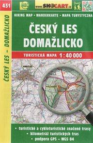 Český Les, Domažlicko - mapa SHOCart č. 431 - 1:40 000