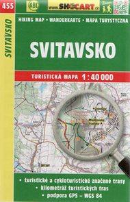 Svitavsko - mapa SHOCart č. 455 - 1:40 000