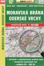 Moravská brána, Oderské vrchy - mapa SHOCart č. 468 - 1:40 000