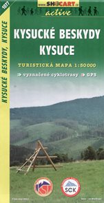 Kysucké Beskydy, Kysuce - mapa SHc1077 - 1:50 000