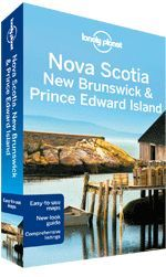 Nova Scotia, New Brunswick & Prince Edwaed Island - Lonely Planet Guide Book - 2th ed. - 13x20 cm
