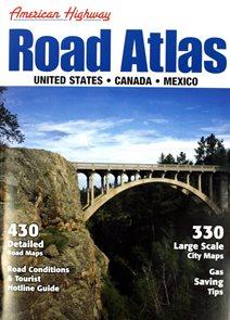 USA - autoatlas American Map - různá měřítka