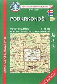Podkrkonoší - mapa KČT č.23 - 1:50t