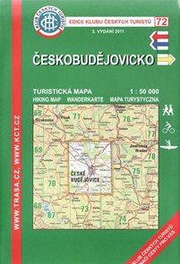 Českobudějovicko - mapa KČT č.72 - 1:50t