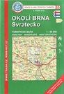 Okolí Brna - Svratecko - mapa KČT č.85 - 1:50t