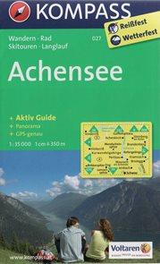 Achensee - mapa Kompass č.027 - 1:35t /Rakousko/