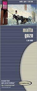 Malta - mapa Reise Know-How 1:50 000