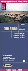 Rumunsko a Moldávie - mapa Reise Know-How 1:600 000