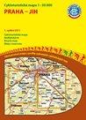 Praha - jih - cyklomapa Klub českých turistů 1:50 000