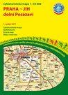 Praha - jih - dolní Posázaví - cyklomapa Klub českých turistů 1:50 000