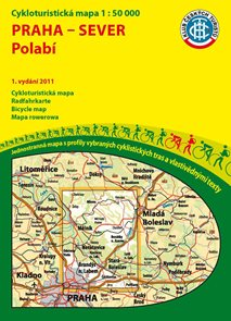 Praha - sever - Polabí - cyklomapa Klub českých turistů 1:50 000