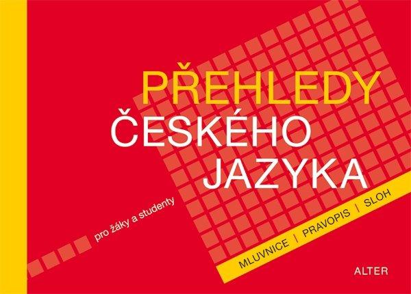 Přehledy českého jazyka pro žáky a studenty - Lenka Bradáčová - 230 x 165 mm