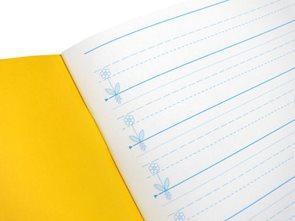 Sešit A5 pro 1. třídu ZŠ s liniaturou písma