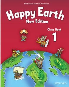 Happy Earth 1 - Class Book NEW EDITION