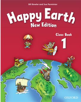 Happy Earth 1 - Class Book NEW EDITION - 276 x 219 mm