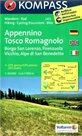 Appennino Tosco Romagnolo -  č.2453 - 1:50 000 /Itálie/