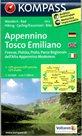 Appennino Tosco Emilianoi - č.2452 - 1:50 000 /Itálie/