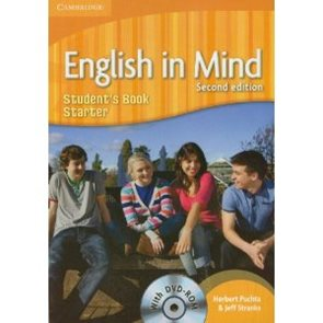 English in Mind Starter Students Book + DVD, 2. edice