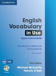 English Vocabulary in Use upper intermediate with answers + CD-ROM, 3. edice