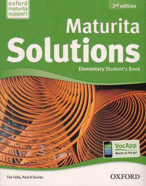 Maturita Solutions Elementary Students Book CZ, 2.ed. - Tim Falla, P. A. Davies - 220 x 275 x 10 mm