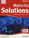 Maturita Solutions Pre-Intermediate Students Book CZ, 2. edice