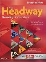 New Headway Elementary Students Book CZ, 4. edice with iTutor DVD - ROM - John Soars, Liz Soars - 217x273 mm