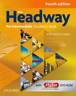 New Headway Pre-Intermediate Students Book + DVD, 4. edice - John Soars, Liz Soars - 221x275 mm