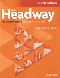 New Headway Pre-Intermediate Workbook with key, 4. edice - SOARS, J. SOARS, L. - 27,2 x 21,8 x 0,8 cm