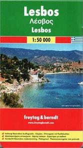 Řecko - Lesbos - mapa FR 1:50