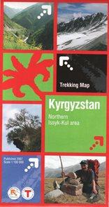 Kyrgyzstan - Northern Issyk-Kul area - 1:100 000