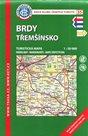 Brdy - Třemšínsko - mapa KČT č.35 - 1:50t