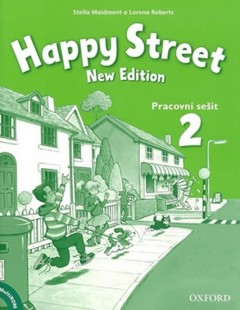 Happy Street 2 New Edition Aktivity Book CZ - 220 × 276 mm