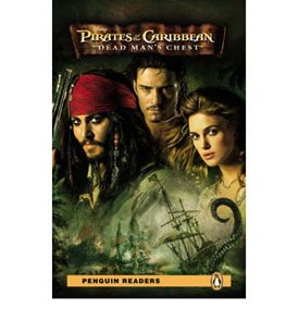 Pirates of the Caribbean Dead Mans Chest Book + MP3 Audio CD - Readers - Level 3