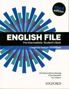 English File Pre-intermediate third edition Students Book s anglicko-českým slovníčkem a DVD-ROMem i