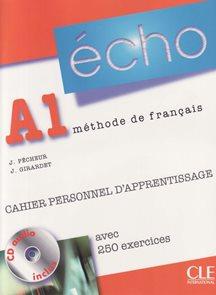Echo NE A1 Cahier personnel d apprentissage + CD + corrigés