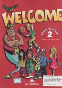 Welcome 2 - Pupils Books + audio CD