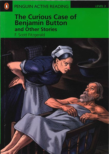 The Curious Case of Benjamin Button and Other Stories with CD-ROM and MP3 - Readers level 3 - Pre-in - Fitzgerald F.Scott