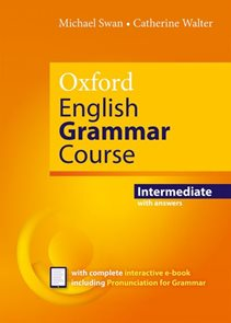 Oxford English Grammar Course - Intermediate with answers + CD-ROM