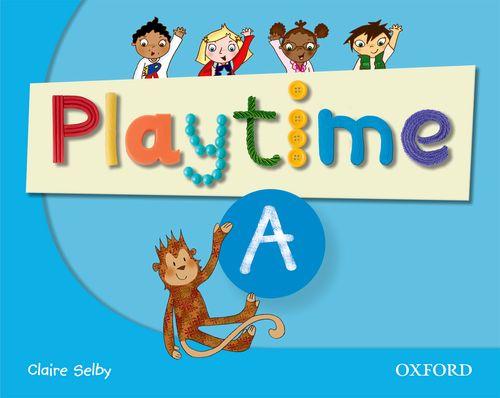 Playtime - Level A - Class Book, učebnice angličtiny pro MŠ - Selby Claire - A4