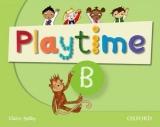 Playtime - Level B - Class Book, učebnice angličtiny pro MŠ - Selby Claire - A4, brožovaná
