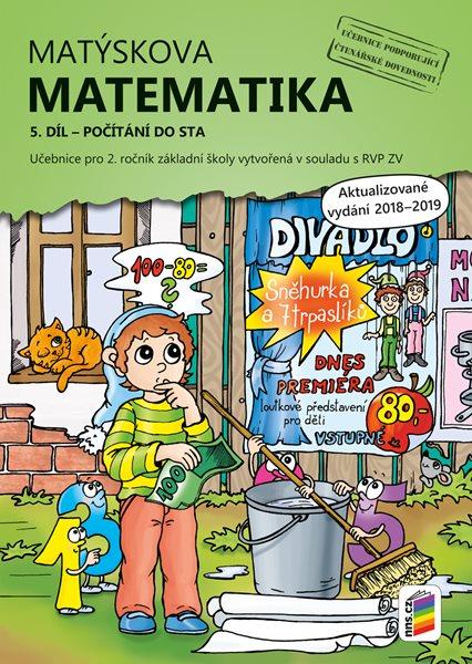 Matýskova matematika pro 2. ročník 5. díl - Počítání do sta - A4, brožovaná