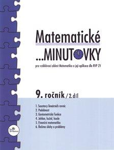 Matematické minutovky 9.r. 2.díl